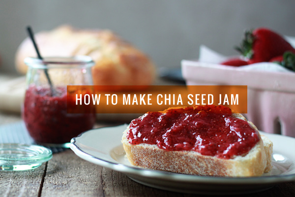 Chia Seed Jam . Photo via http://ohmyveggies.com/how-to-make-chia-seed-jam